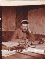 1915 - LACHAPELLE SOUS ROUGEMONT - PHOTO MILITAIRE FORMAT IDENTITE - BRIGADIER FOURRIER MARTINET - 28 EME REGIMENT - Guerre, Militaire