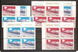 1977 Jugoslavia Yugoslavia CONFERENZA SICUREZZA EUROPA EUROPE 10 Serie Di 2v. (1588/89) MNH** - 1945-1992 Repubblica Socialista Federale Di Jugoslavia