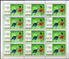 Olympiade Tokyo Olympiasieger 1964 Korea 1772 Im 12KB O 5€ Brumel USSR Hochsprung Bloc Olympic Winner M/s Sheetlet Corea - Summer 1964: Tokyo
