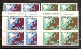 1977 Jugoslavia Yugoslavia CONFERENZA EUROPA EUROPE 6 Serie Di 2v. (1580/81) MNH** - 1945-1992 Repubblica Socialista Federale Di Jugoslavia