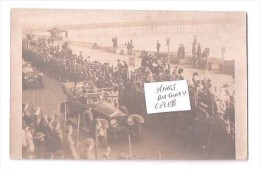 RP DOVER  PIER MOTOR CAR & MARCH PAST ? OF ROYAL ARTILLERY KINGS BIRTHDAY PARADE 1907 UNUSED - Dover