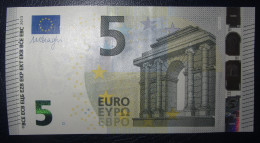 5 EURO S002G2 DRAGHI ITALY  ITALIA  SERIE SE Perfect UNC - EURO