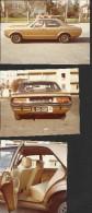 "Alter Oldtimer  ""Ford Granada""   3 Stück   In Sehr Guter Erhaltung!   10,8 X 7,7 / 9,5 X 7,9 / 8 X 10,9 Cm - Automobili"
