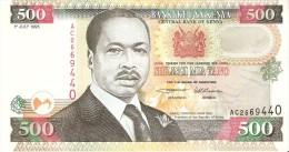 BILLETE DE KENIA DE 500 SHILINGI DEL AÑO 1995 (BANK NOTE) - Kenia