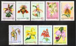 Poland 1965 - Orchids - 1944-.... Republic