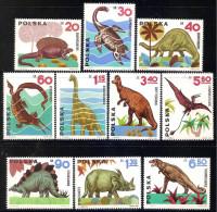 Poland 1965 - Dinosaurs - 1944-.... Republic