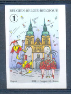 OCB Nr 3802 ND ONGETAND Eupen Carnaval Carnavale Karnaval - Belgique