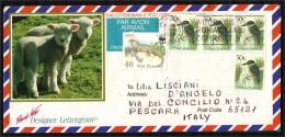 NUOVA ZELANDA - 1991 - FROM AUCKLAND TO ITALY - Cartas