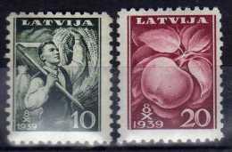 Lettland / Latvia 279-280 Z ** [080614Stk] @ - Letonia