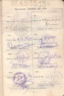 LIBRETA DE ENROLAMIENTO REPUBLICA ARGENTINA MASCULINO NACIDO EN 1905 RAROS NOMBRES EDISTO - Historische Dokumente
