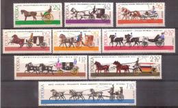 Poland 1965 - Horse - Drawn Carriages - 1944-.... Republic