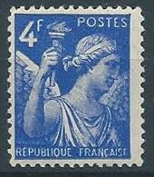 1944 FRANCIA IRIS 4 F MNH ** - EDF168 - 1939-44 Iris