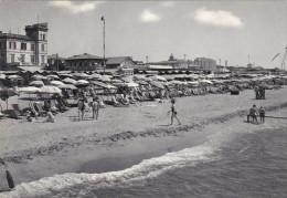 Cartolina MARINA DI MASSA (Massa E Carrara) - La Spiaggia - Massa