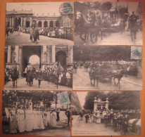 Lot De 22 CPA Nancy Cortège Historique 1909 - Nancy
