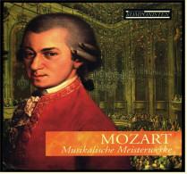 CD -  Wolfgang Amadeus Mozart  -  Musikalische Meisterwerke  -  Mit Begleitheft - Klassik
