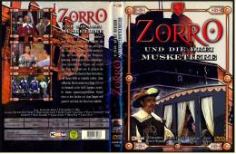 DVD  ,  Zorro Und Die Drei Musketiere  -  Mit : Gordon Scott , José Greci , Maria Grazia Spina - Klassiker