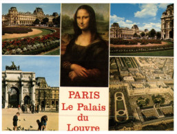 (250) Paris - Mixed VIews+ Joconde Painting - Monuments