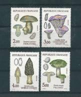 France Timbre De 1987   N°2488 A 2491 Champignons  Neuf ** Vendu Au Prix De La Poste - France