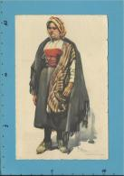 MIRANDA DO DOURO - CAMPONESA - N.º 5 - Série B - Costumes Portugueses - Alberto Souza 1937 - Portugal - 2 Scans - Postal Stationery