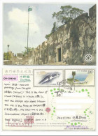 CHINA POSTAL USED AIRMAIL VIEWCARD VIEW CARD WITH STAMP TO PAKISTAN