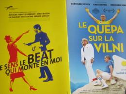 Plaquette 16 Pages : Le Quepa Sur La Vilni ! / Je Sens Le Beat Qui Monte En Moi. Yann Le Quellec. 2014 - Cinemania