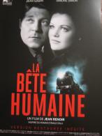 Plaquette 4 Pages : La Bête Humaine, Renoir (2014) - Cinemania