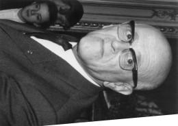 Photo Originale De Presse - André  CHANSON  , écrivain Et Académicien - Célébrités