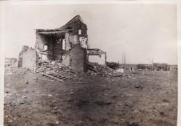 Photo Juin 1917 Secteur SALLAUMINES, NOYELLES-SOUS-LENS ?? - Une Vue, Des Ruines (A74, Ww1, Wk1) - France