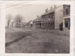 Photo Mai 1917 BILLY-MONTIGNY (près Noyelles-sous-Lens) - Une Rue (A74, Ww1, Wk1) - France