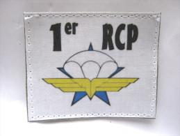 (PRIX SPECIAL) INSIGNE TISSUS PATCH DES CHASSEURS PARACHUTISTES 1� RCP ETAT EXCELLENT SUR VELCRO
