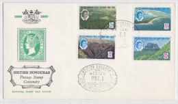 BRITISH HONDURAS - BELIZE - Enveloppe Premier Jour - FDC 1966 - British Honduras (...-1970)