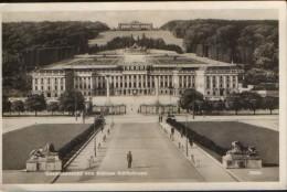 Autriche, Carte Postale Circule En 1933 Avec D'un Cachet De La Censur  - Wien - Schloss Schonbrunn  - 2/scans - Château De Schönbrunn