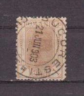 1900 - CHARLES I  (Épis De Blé D´émission) Mi No 128 Et Y&T No 125   BAN Sans I - 1881-1918: Carol I.