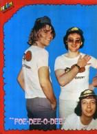 - POSTER  RUBETTES . DOUBLE PAGE DU MAGAZINE PODIUM 1975 . - Plakate & Poster