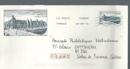 ENTIER PRET A POSTER Théme PARIS LA CONCIERGERIE - Prêts-à-poster: Other (1995-...)