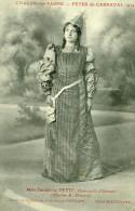 CHALON SUR SAONE - Fêtes Du Carnaval En 1914 Mle Joséphine PETIT Demoiselle D'Honneur Maison E DRUARD Costumes PAPILLOT - Chalon Sur Saone