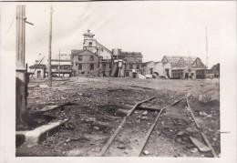 CP Photo Juin 1917 BILLY-MONTIGNY (près Noyelles-sous-Lens) - Une Fosse, Compagnie Des Mines De Courrières (A74, Ww1) - France