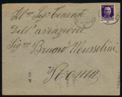 ITALIE - WW2 - GUERRE - AVIATION / 1937 LETTRE ADRESSEE A BRUNO MUSSOLINI (ref 5504) - Marcophilie