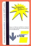 Belgie Belgique Belgium  Bustickets DE LIJN - 50% - Bus