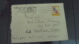 Vietnam Viet Nam Local Cover 1978 With International Children Day / Butterfly Stamp - Viêt-Nam