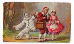 Rare Ancienne Chromo Imp. Testu & Massin, Pierrot - Chromos