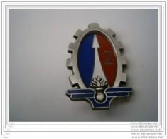 Insigne Marque Boussemart 2001 2e Régiment Du Matériel (RMAT) Homologué G3283 - Militaria
