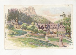 Grande Chartreuse Dauphiné Illustrateur Tamagno 2 Scan TBE - Unclassified