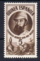 GUINEA 1950 DIA DEL SELLO   SERIE COMPLETA.EDIFIL  Nº 294. NUEVOS SIN   CHARNELA.SES591 - Guinée Espagnole