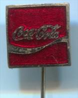 COCA COLA - Drink, Enamel, Pin, Old Badge - Boissons