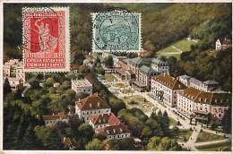 Ref 370- Slovenie - Rogaska Slatina  /-carte Décollée -voir Dans Description -/see Description - - Slovénie
