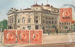 Ref 368- Slovenie - Ljubljana -opera   /-carte Décollée -voir Dans Description -/see Description - - Slovénie
