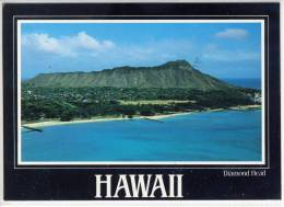 HAWAII - Diamond Head, Air View Taken From A Helicopter - Honolulu