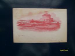 CAMPI FLEGREI Baia Lago Fusaro Viaggiata 1900 Sfumatura Rosso Edizione Tedesca Berlin - Napoli (Naples)