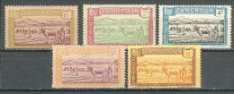 Collection CAMEROUN ; Colonie , 1925-1927 ; Y&T N° 106 à 110 ; Lot  ; Neuf - Ungebraucht